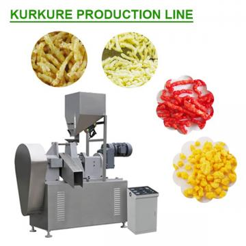80kw CE Certification Kurkure Production Line With 100-200kg/h Capacity