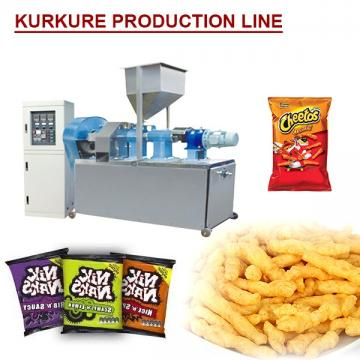 380V Extrusion Process Kurkure Production Line With High Productivity