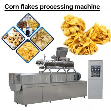 240KW Stainless Steel Corn Flakes Processing Machine With 120kg/h-400kg/h Production Capacity