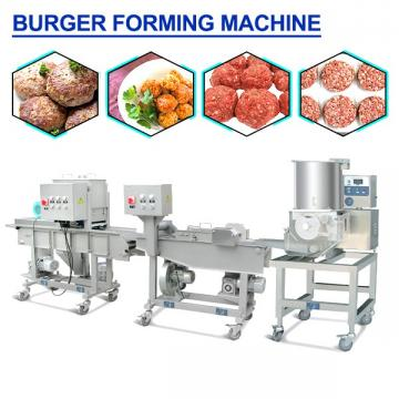 HACCP Certificate Stainless Steel Patty Forming Machine With 200-600kg/h Capacity