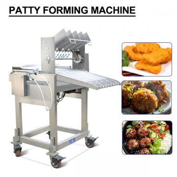 Safe And Reliable Patty Forming Machine,High Degree Of Automation