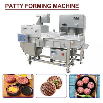 CE Certification Fully Automatic Patty Forming Machine,Easy Cleaning