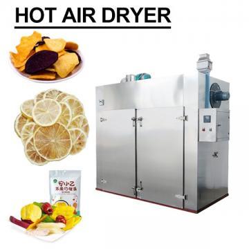 Ultra High Pressure 100KPa High Efficiency Hot Air Dryer For Fruits