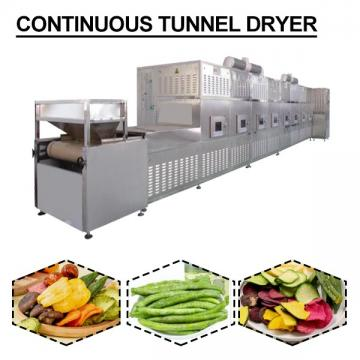 CE Certification 380V Continuous Tunnel Dryer With Long Service Life Design